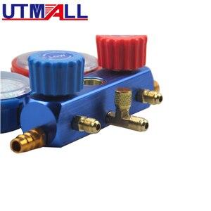 Image 5 - Coche nuevo aire acondicionado A/C refrigerante R134A R22 R404a R410 del núcleo de la válvula rápido removedor de instalador 3000PSI 1,5 M de manguera