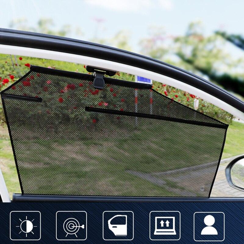 Автомобильные занавески с автоматическим подъемом Солнцезащитная изоляция телескопические занавески специальный солнцезащитный козырек...