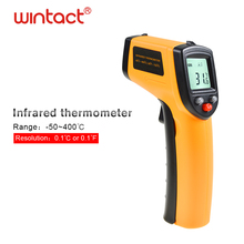 Handy Thermometer Laser Temperature CE Approved Non contact Digital Visual Infrared Thermometer GM320