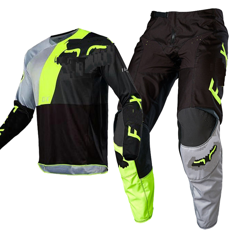 2020 Racing Suit Rapidly FOX 360 Clothing Motocross Jersey And Pants Motorbike Men's Kit For Honda Motorcycle Gear Set Mx Combo