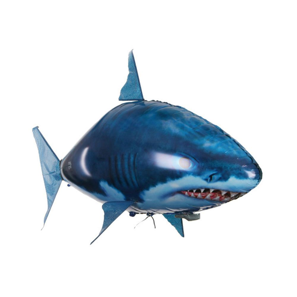 Infrared RC Flying Air Shark Toy Funny Remote Control Fish Balloon for kids Toys Gifts Party Decoration Flying Fish Balloon image