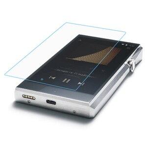 Image 4 - Yumuşak temizle kristal TPU deli kılıf kapak için Iriver Astell & Kern SP1000 ön ekran koruyucu temperli cam