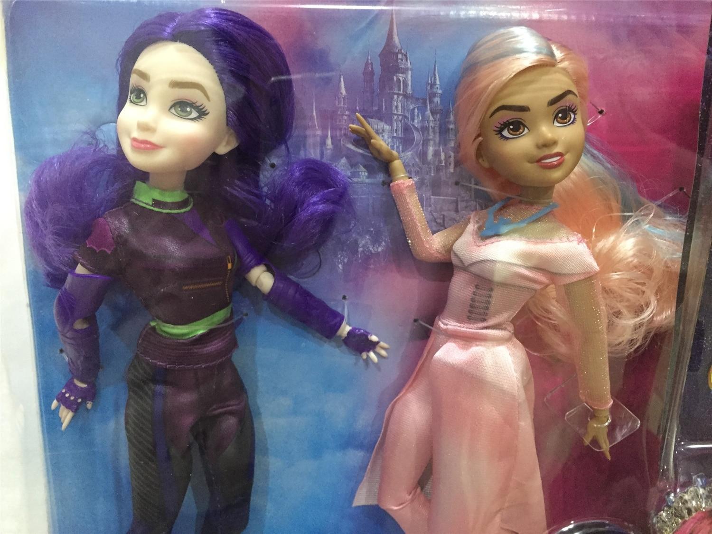 11'' Original Descendants Doll Action Figure Doll Maleficent Toy Gift Dolls For Girls Boys Evie Mal Descendants 2 3