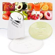 Maschera per il viso macchina per il trattamento del viso fai da te automatico frutta naturale verdura collagene uso domestico salone di bellezza SPA Care Eng Voice