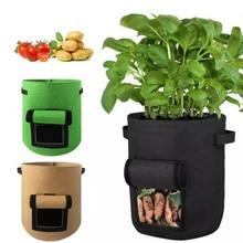 Plant Growth Bag home garden Potato greenhouse Vegetable Planting Bag Moisturizing jardin Vertical Garden Grow Bag seedling pot