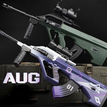 AUG Airsoft Manual +electric BB Or Gel Airsoft Gun Safety Cs Shooting Game Paintball Airsoft Air Guns 1