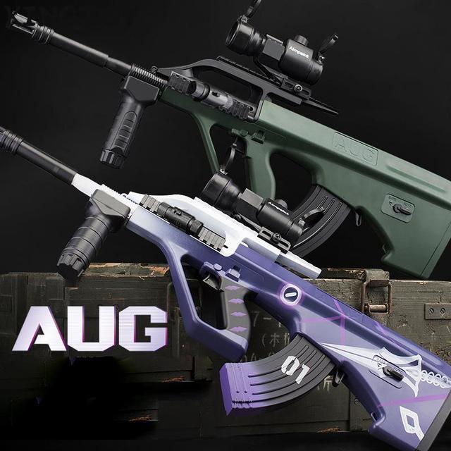 AUG Airsoft Manual +electric BB Or Gel Airsoft Gun Safety Cs Shooting Game Paintball Airsoft Air Guns 1