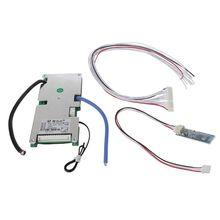 Polímero protetor da placa bms 30a da bateria de lítio de 13 s com componente elétrico flexível esperto da relação de uart de bluetooth