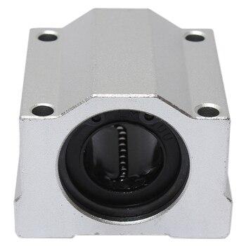 SCS20UU 20mm mouvement linéaire roulement à billes glissière bloc de bague en acier|Roulements|   -