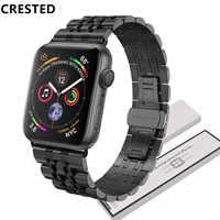 Edelstahl strap Für Apple Uhr band 5 4 44mm 40mm 3 iwatch band 42mm/38mm correa armband gürtel uhr Zubehör 2