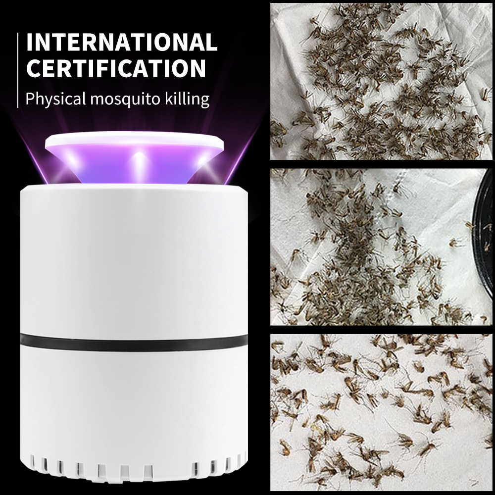 Electric Insect Trap Lamp LED Anti Mosquito Killer Lamp Mata Musquito Bug Zapper Fly Killer LED Light USB LED Night Light DC 5V