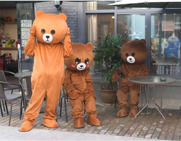 [Engraçado] cosplay roupas animais urso de pelúcia