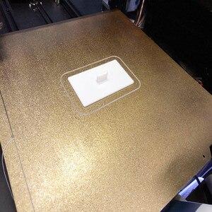 Энергичный новый двухсторонний текстурированный PEI с порошковым покрытием пружинный стальной лист Mk52 Магнитная печатная кровать для Prusa Mk3 ...
