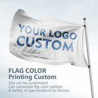 Commercial show the family decorates a festive party party demonstrations Color flags custom LOGO and design
