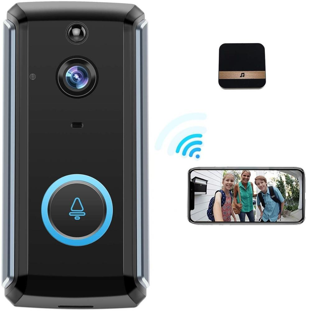 WIFI Doorbell Smart IP Camera Intercom Video Phone OutDoor Wireless Security Family Intercom IR Alarm Night Vision Security Came