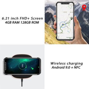 Image 4 - Blackview BV9600E 4GB 128GB IP68 Rugged Smartphone 6.21 FHD+ AMOLED Android 9.0 Global 16MP P70 AI Octa Core mobile phone