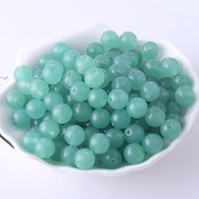 36Pcs 10mm Czech Glass Seed Beads Acrylic Green Suitable For Clothing Handmade Jewelry Crafts DIY Bracelet Necklace