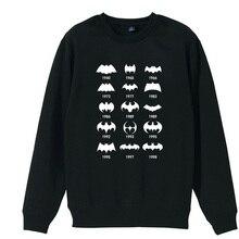 Batman Evolution Joker Ha Some People Just Need A Pat On The Back Boy Man Crew Neck Sweatshirt Fleece Pullover ZIIART