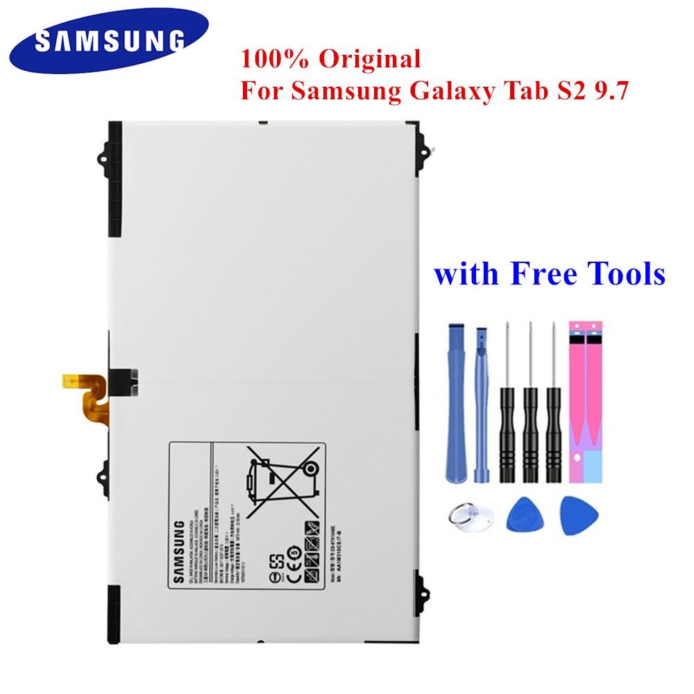 Samsung Original Tablet Battery for Galaxy Tab S2 9.7 inch SM-T815 SM-T810 T815C T813 T815 T819C T817A 5870mAh EB-BT810ABE