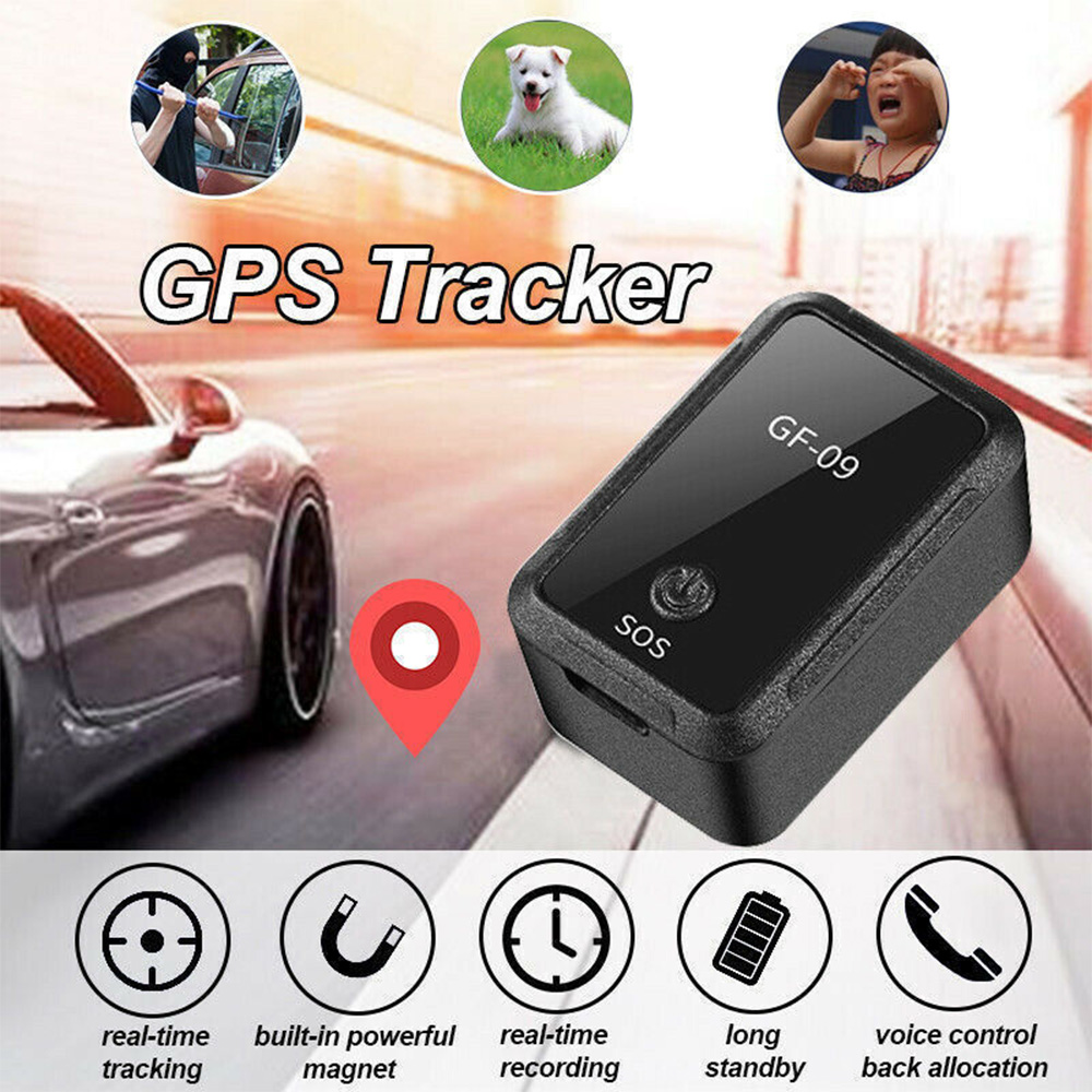 GF-09 Improved Mini GPS Tracker APP Control Anti-Theft Device Locator Magnetic Voice Recorder For Vehicle/Car/Person Location