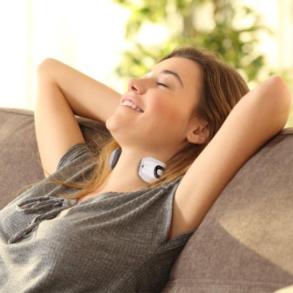dispositivo de relaxamento inteligente massageador cervical