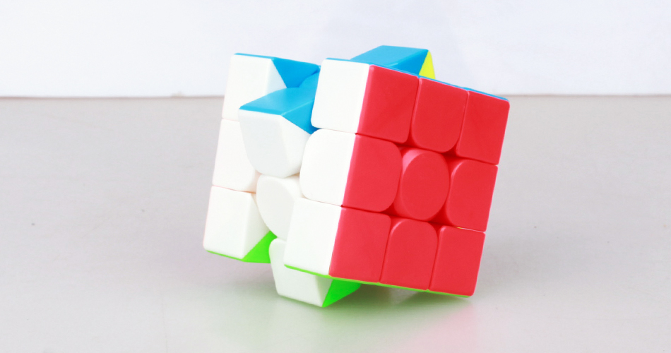 MoYu 3x3x3 meilong magic cube stickerless cube puzzle professional speed cubes educational toys for students