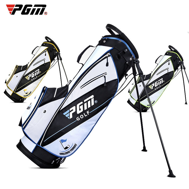 Men Women Ultra-light Golf Stand Bag Portable Waterproof Golf Rack Bag Shoulder Strap 14 Pocket with Wheel Travel Package 1
