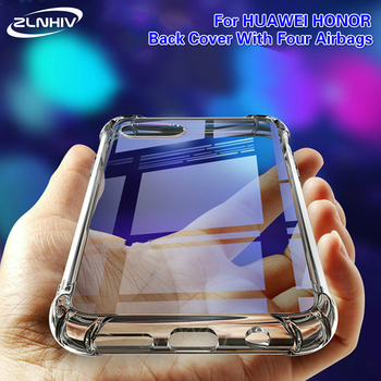 ZLNHIV for huawei y5 y6 y7 pro y9 prime 2018 2019 cover phone case fitted silicone cases mobile phone accessories bumper bag tanie i dobre opinie Zderzak Air hockey Zwykły Przezroczysty Anti-knock Heavy Duty Ochrony tpu case phone bumper covers phone for huawei y5 2018 phone case