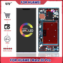6.53'' Display For Huawei Mate 30 Pro LCD Display For Mate 30Pro Display With Frame Touch Screen UY Replacement LIO-L09 Assembly
