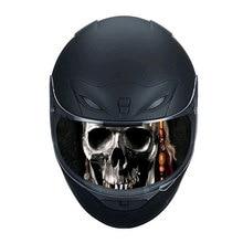 Helmet Decoration Sticker Detachable Motorcycle Racing Helmet