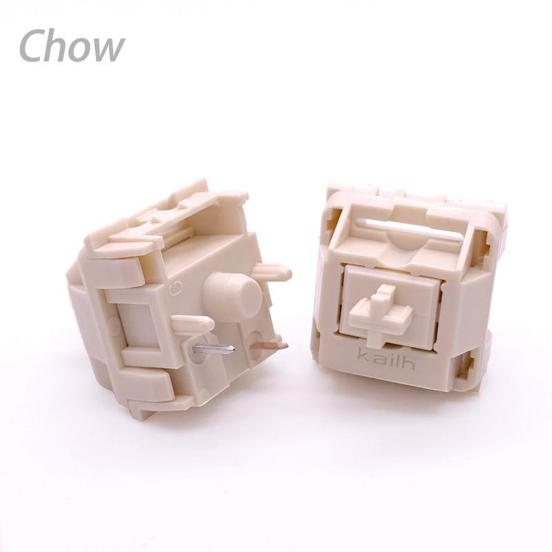 Kailh Cream Mechanical Keyboard Switch Liner Hangfeeling MX Switch 5pin