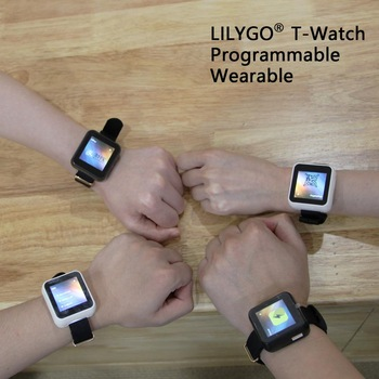 LILYGO® TTGO T-Watch Programmable Wearable Environmental Interaction WiFi Bluetooth Lora ESP32 Capacitive Touch Screen