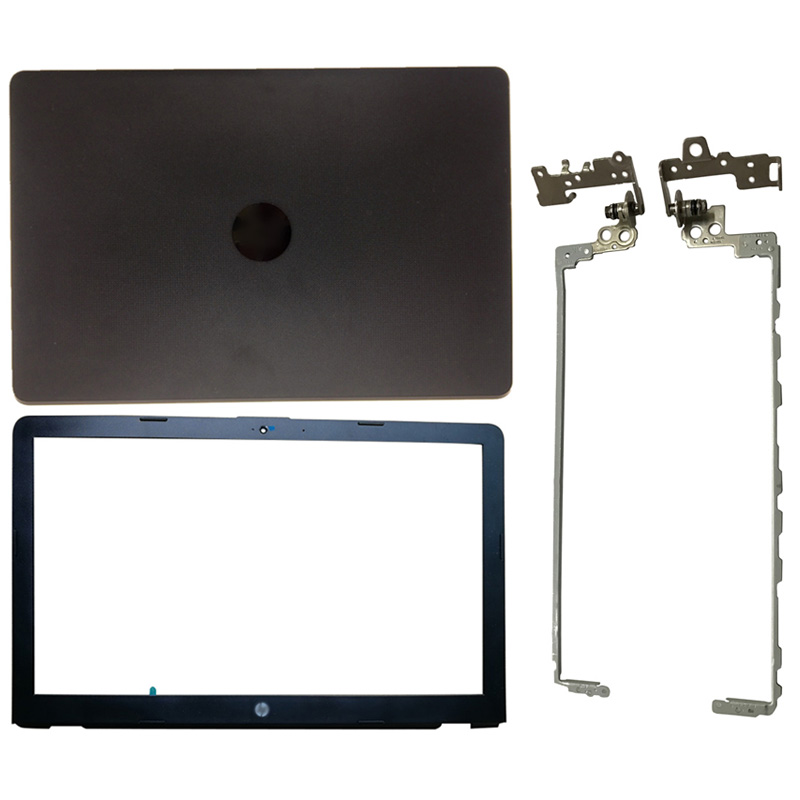 For HP Pavilion 15-BS 15T-BS 15-BW 15Z-BW 924899-001 Laptop LCD Back Cover/Front Bezel/Hinges/Hinges Cover Black 6