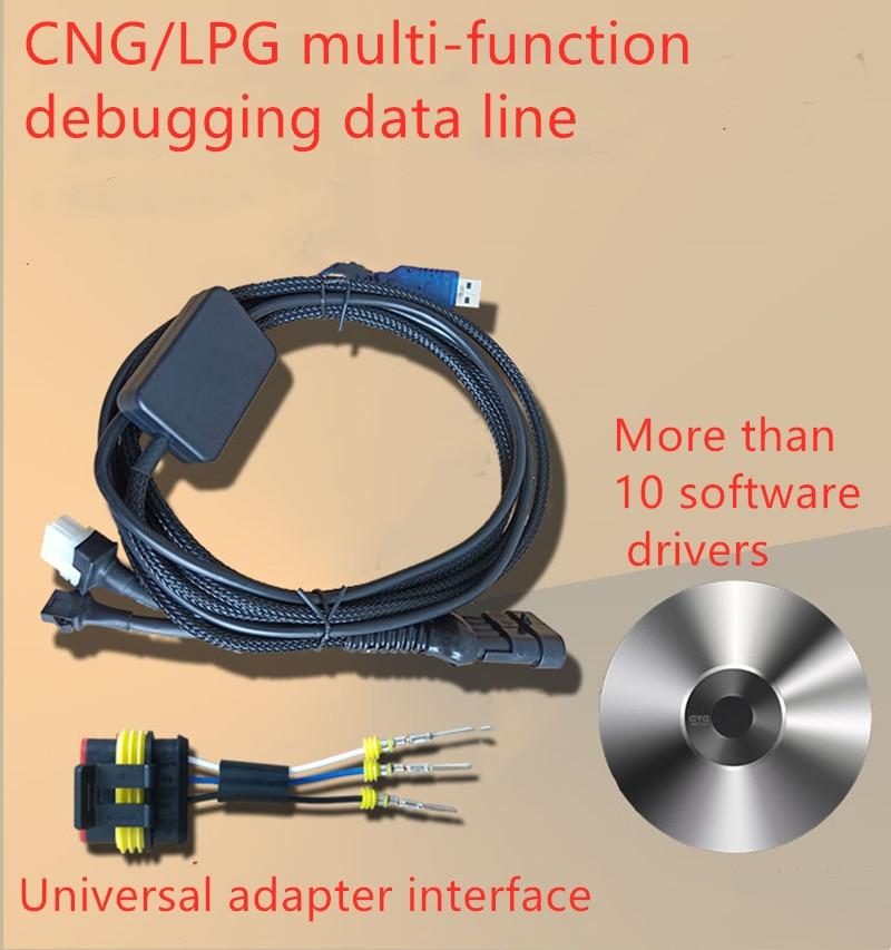 CNG/LPG Computer Board General Diagnostic Debug Line Data Line For AC AEB ECU