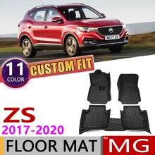 Пользовательские автомобильные кожаные коврики для MG ZS SUV 5 мест~ Водонепроницаемый Анти-грязный авто коврик для ног аксессуары с покрытием