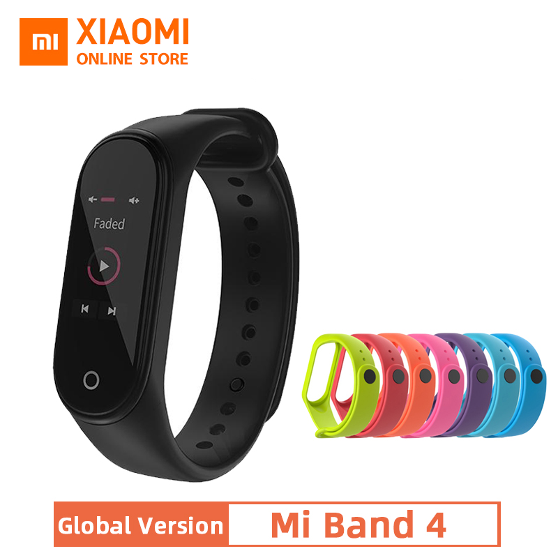 Xiaomi Bracelet Display Mi-Band Fitness-Tracker Global-Version Colorful 4 Message-135mah title=