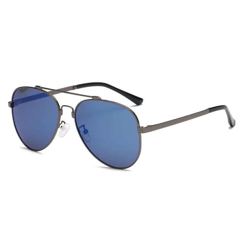 Поляризационные солнцезащитные очки для пилота, мужские винтажные Ретро очки для вождения, авиационные солнцезащитные очки для мужчин