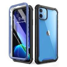 Cho Iphone 11 6.1 Inch (Phát Hành Năm 2019) tôi Blason Ares Toàn Thân Chắc Chắc Rõ Ràng Ốp Lưng Bao Ốp Lưng Tích Hợp Bảo Vệ Màn Hình
