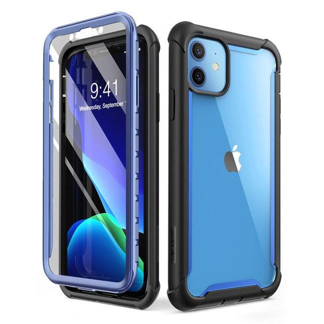 Funda para iPhone 11 DE 6,1 pulgadas (2019 de liberación) i blason Ares, Protector de pantalla incorporado