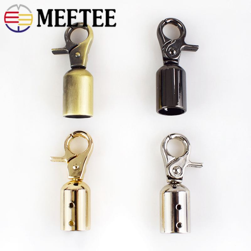 2 4pcs Meetee Metal Buckles Bag Handle Strap Belt Cap Hook Lobster Snap Clip Clasp Buckle Handbag Hanger Hardware Accessories in Buckles Hooks from Home Garden