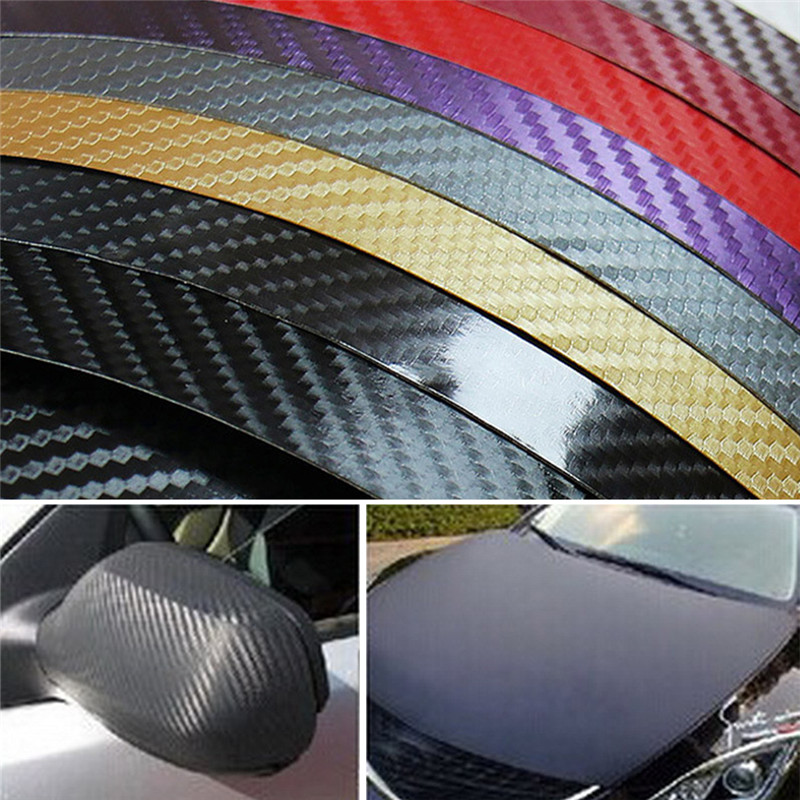 Image 5 - Car Sticker Door Protection Car Accessories Interior Carbon Fiber Body Bumper Auto Motorcycle Waterproof Ornaments Decoration-in Ornaments from Automobiles & Motorcycles on