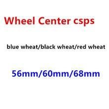 4 pçs 56mm 60mm 68mm emblema do carro roda centro hub tampas emblema cobre acessórios estilo do carro
