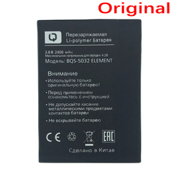 WISECOCO Original 2400mAh Battery For BQ BQS 5032 ELEMENT Smart Mobile phone In Stock Lastest Production battery+Tracking Number