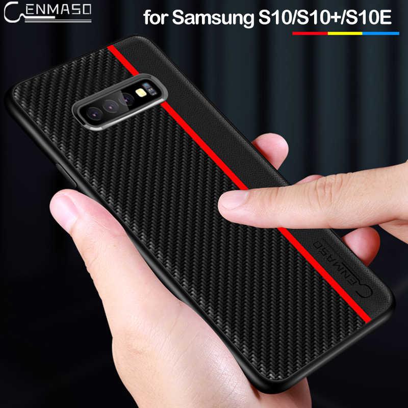 Para Samsung S10 caso Original proteger la cubierta para Samsung Galaxy S10 más S8 S9 S10e 5G Nota 10 9 A50 A70 A7 A8 más A9 2018