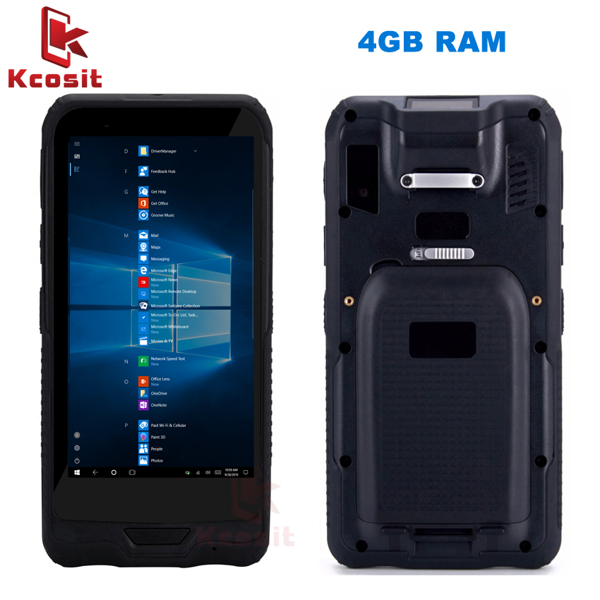 Original K72H Rugged Mini Tablet PC Windows 10 Pocket Mobile Computer PC 6 Inch 4GB RAM 64GB ROM IP67 GPS 2D Barcode Scanner PDA