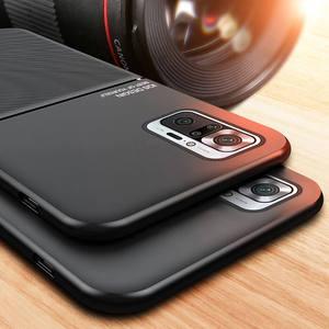 Image 2 - יוקרה Flip טלפון מקרה עבור Xiaomi Redmi הערה 10 פרו מקרה TPu בחזרה כיסוי על Xiomi Mi 11 Ultra Mi11 לייט Note10 פרו מעטפת 6D שריון