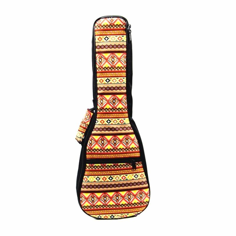 NEW-Soprano Concert Tenor Ukulele Bag Backpack Cotton Padded Bag Gig Bag Guitar Case Parts Accessories