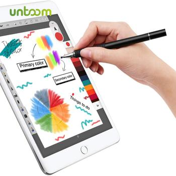 цена на Untoom Stylus Touch Screen Pen for iPad Pro 2 in 1 Universal Capacitive Stylus Drawing Pen for Android Device Smartphone Tablet