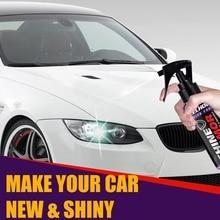 Ceramic Car Wash Fortify Quick Coat Polish & Sealer Spray Car Nano Ceramic Coating Polishing Spraying Wax 120ml