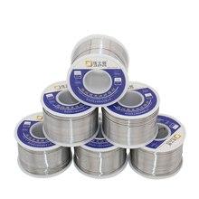 JASTON 50g Zinn Draht Harz Flux Entkernt Solder 0,3mm/0,5mm/0,6mm/0,8mm/1mm Sn63/Pb37 Blei Löten Draht Reel